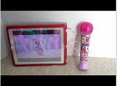 My Little Pony Sing Along Microphone with MP3Ipad