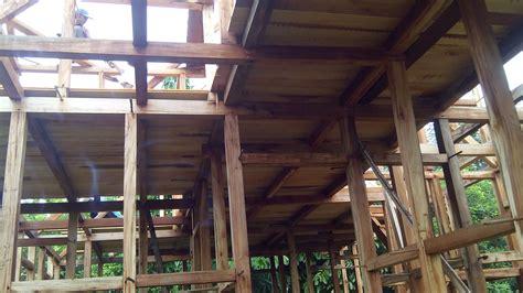jual rumah kayu  jakarta bogor bandung depok tangerang