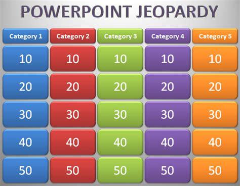 jeopardy powerpoint template  microsoft powerpoint