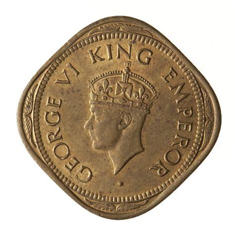 Coin - 2 Annas, India, 1945