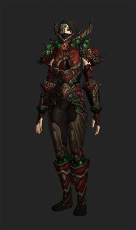 tyrannical gladiators ironskin armor horde recolor