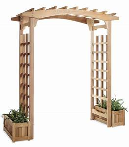 Garden Arbor Trellis and Patio Pagoda by ALL THINGS CEDAR