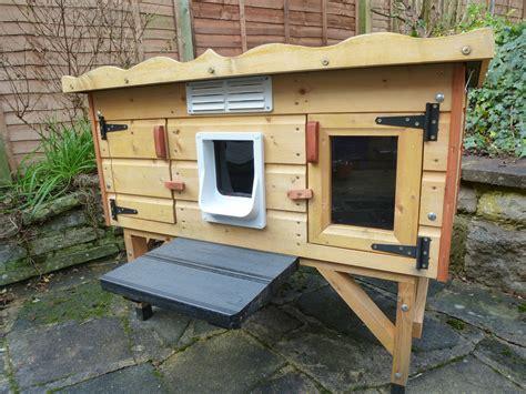 outdoor cat house plans winter
