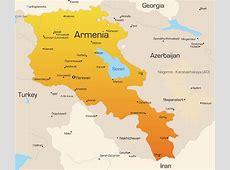 Voyage Arménie Carte du monde