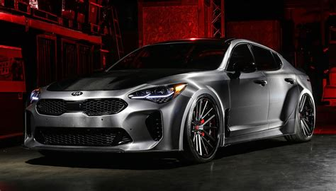 2019 Kia Stinger by 2019 Dub Kia Stinger Gt K900 Debut At Sema Show