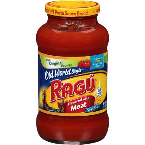 ragu traditional meat  oz  oz resnick distributors