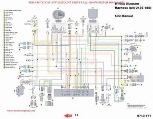 Polaris Ranger 500 Wiring Diagram 2006  2008 Five Hundred