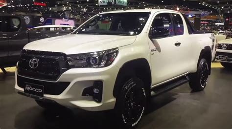 2019 Toyota Hilux, Rocco, Release Date, Price, Specs