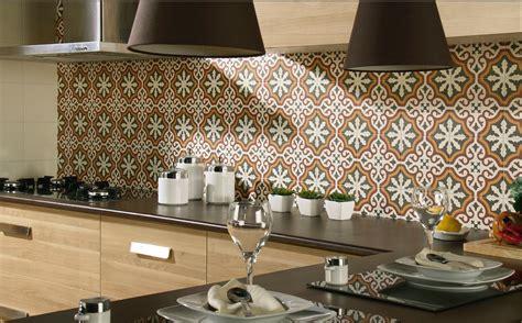 cuisine d autrefois carrelage aspect carreau ciment 20x20 décor et frise