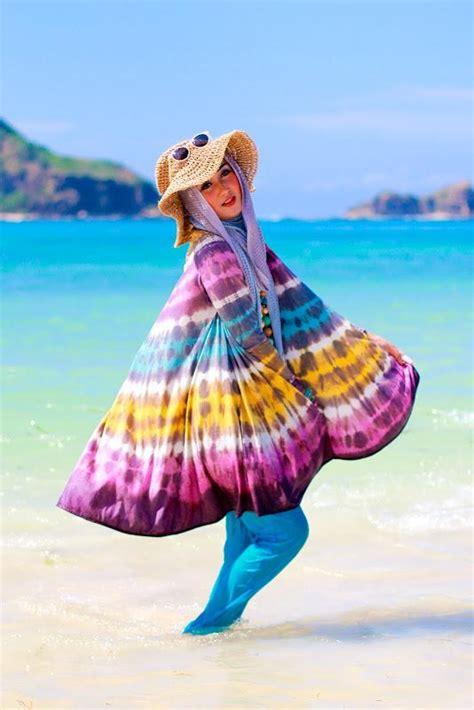 traveling  pantai  tips busana  hijabers