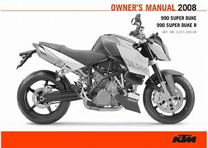 Ktm 990 Super Duke 2008 Maintenance Manual Pdf Download