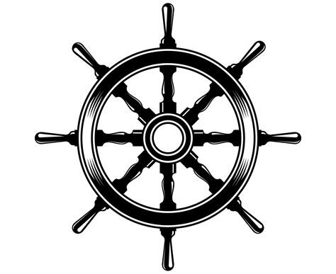 Boat Steering Wheel Svg Steering Wheel Svg Nautical Svg