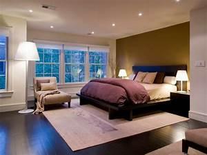 Tolle Beleuchtung im Schlafzimmer