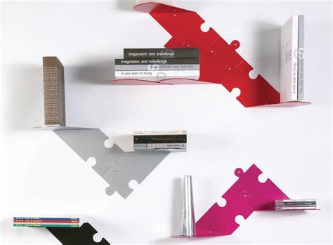 mensole moderne puzzle 8 mensole moderne in acciaio