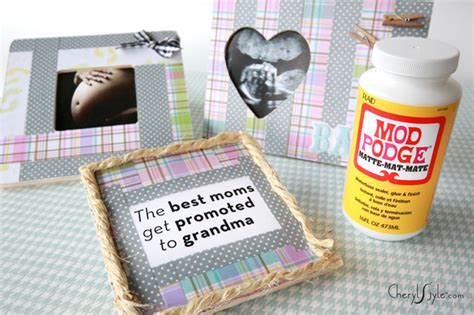 Home Made Is Easy Diy Gifts For Grandma At Baby Shower