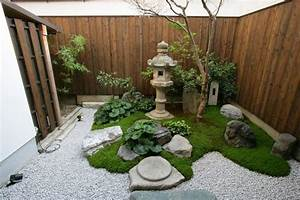 Kleiner Japanischer Garten : kleinen japanischen garten anlegen moos bepflanzen kies garten pinterest garten kleiner ~ Markanthonyermac.com Haus und Dekorationen