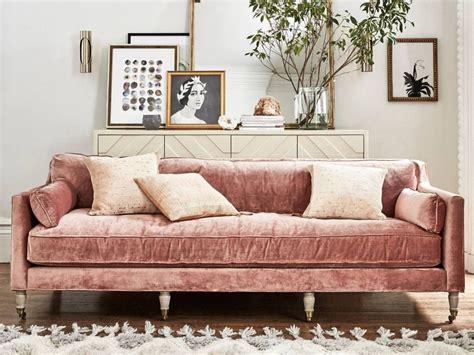 canapé luxe tissu l 39 automne dans du velours joli place
