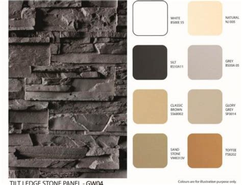 ledge stone panel usa fiberglass faux siding gw003 280 130cm myfull decor