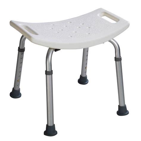 8 height adjustable shower chair bath bench