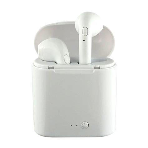 headphones earbuds wireless bluetooth earphones ear i7s case charging bud tws stereo twins double tanga consumer electronics