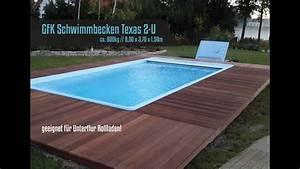 Gfk Pool Deutschland : gfk schwimmbecken fertig schwimmbecken fertig pool modell texas 2 u youtube ~ Eleganceandgraceweddings.com Haus und Dekorationen