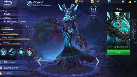 Guide Vexana Mobile Legends, Penyihir Terlupakan Yang