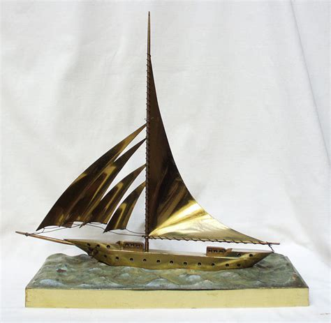 Sailing Boat Art by Sailing Boat Art Deco Sculpture Catawiki