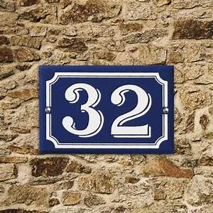 Numéro Maison Design : num ro de rue en aluminium personnalisable ~ Premium-room.com Idées de Décoration