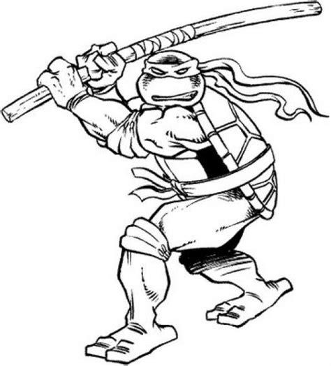 mari ferrari hello hello letra dibujo de tortuga ninja con sable pelado para pintar y