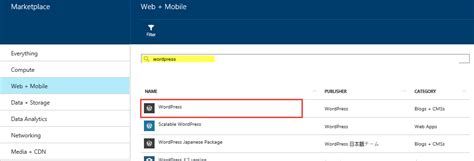 start it wp template creating a website with azure microsoft