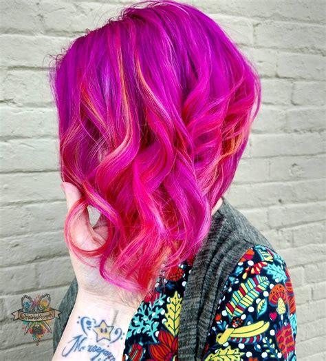 pinke haare färben pinke haare haarfarbe inspiration haare pink f 228 rben hairbykaseyoh haarfarben parfum