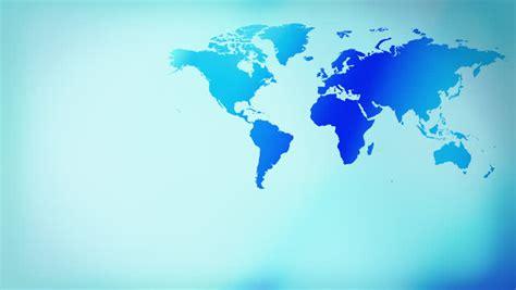 blue layout futuristic world map stock footage video