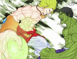 Image - Broly vs hulk by johnliriano-d5hdw9u.png | Dragon ...