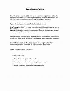 Example Of Exemplification Essay Do My Assignement For Me Short  Example Of Exemplification Essay Topic Ideas