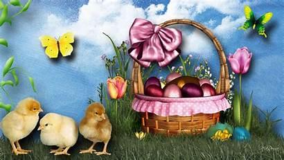 Easter Desktop Happy Basket Definition Widescreen Osterkorb