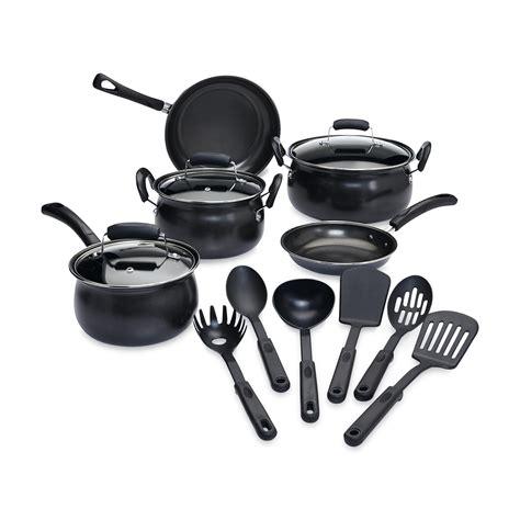 carbon steel cookware nonstick pans piece pots cheap cooking essential shld prod lids