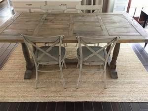 Where To Buy A Farmhouse Trestle Style Farm Table - Fox