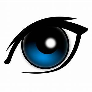 Clipart - cartoon eye