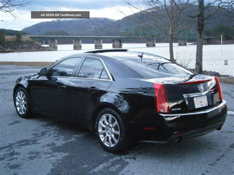 2008 Cadillac Cts Awd by 2008 Cadillac Cts 3 6l Direct Injection Awd Platinum Package