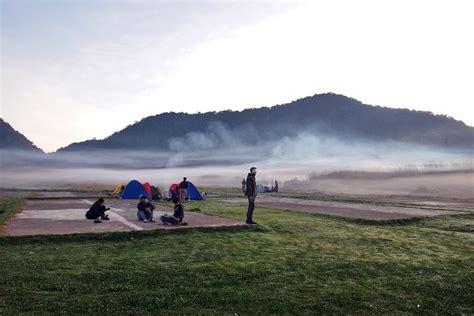 tempat camping asyik  bandung raya