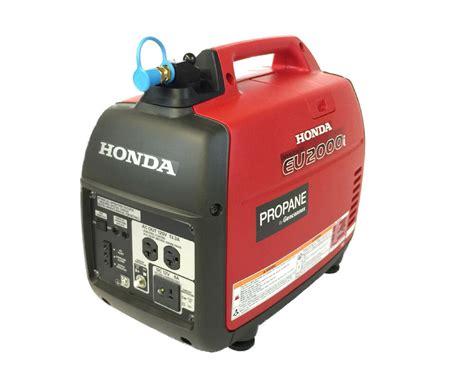 Honda Propane Eu2000i Inverter Generator