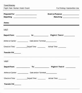 Cruise itinerary template 3 free word excel pdf for Itenary template