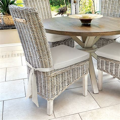 rattan kitchen table and chairs white wicker dining chairs all weather white wicker dining