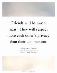 Communion Quote... Respect Privacy Quotes