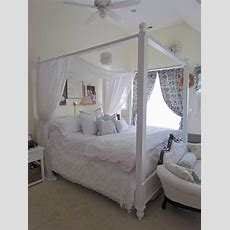 White Canopy Bed & Rosedale Metal Canopy Queen Bed