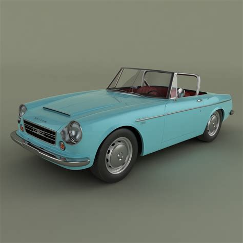 Datsun Models by Datsun 2000 Fairlady 3d Model Max Obj 3ds Cgtrader