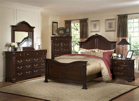 Emilie Tudor Brown King Panel Bed From New Classics 1841