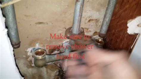 price pfister tubshower  handle valve replacement youtube