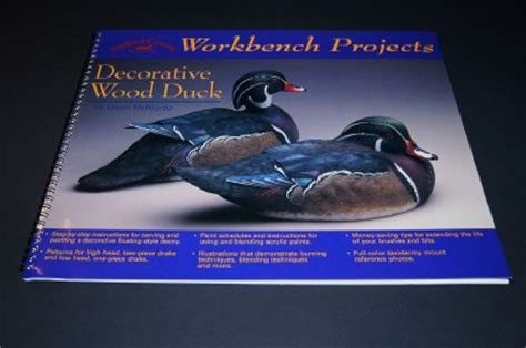 signed wildfowl carving decorative wood duck decoy book