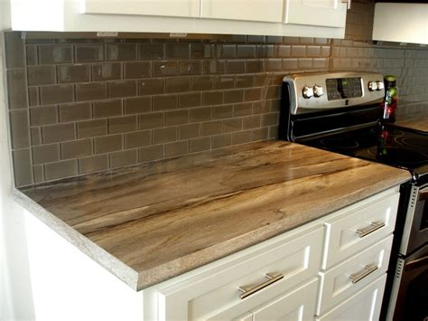 Laminate Kitchen Backsplash Kitchen Subway Tile Glass Backsplash Laminate Countertop Transitional Kitchen Other